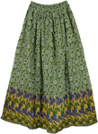 Dell Green Easy Skirt