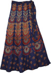 Fiji Blue Wrap Mud Skirt
