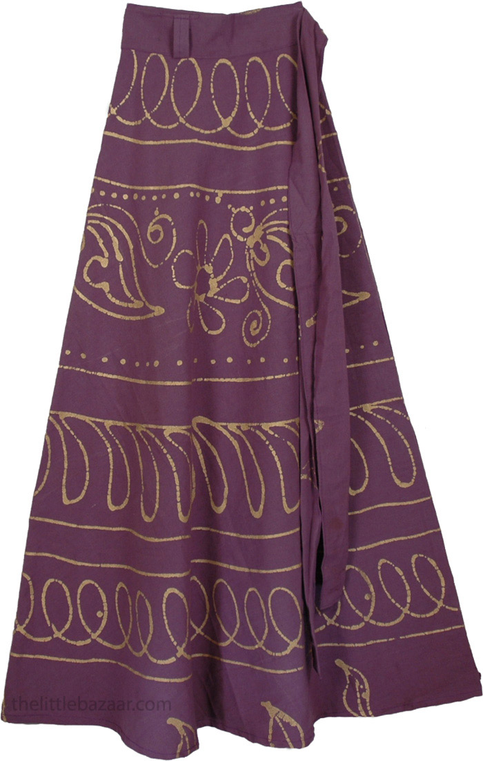 wrap long skirts