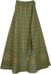 Go Ben Long Wrap Skirt