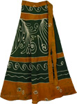 Peru Green Earth Wrap Skirt