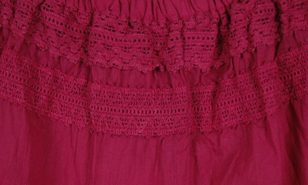 Pinky Skort Split Skirt