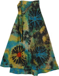 Kazi Bohemian Wrap Around Long Skirt
