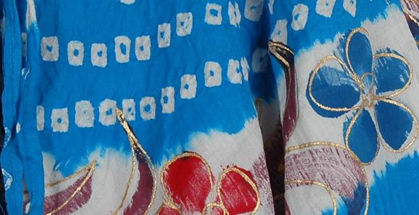 Blue Gypsy Long Skirt