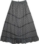 Empress Grey Designer Skirt