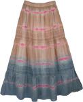 Quick Sand Cotton Fashion Skirt