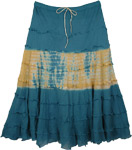 Savannah Tie Dye Gypsy Skirt
