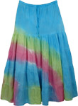 Colorful Hues Shakespeare Cotton Skirt