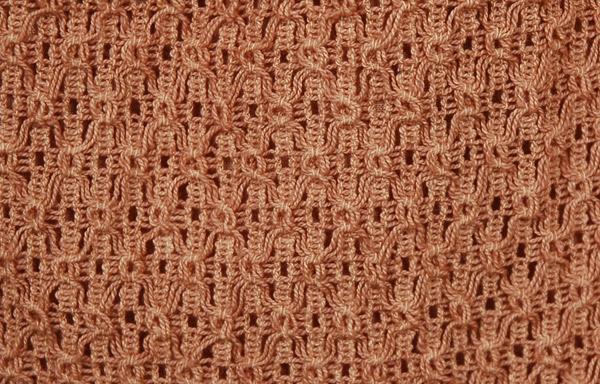 Brass Boho Crochet Trendy Skirt