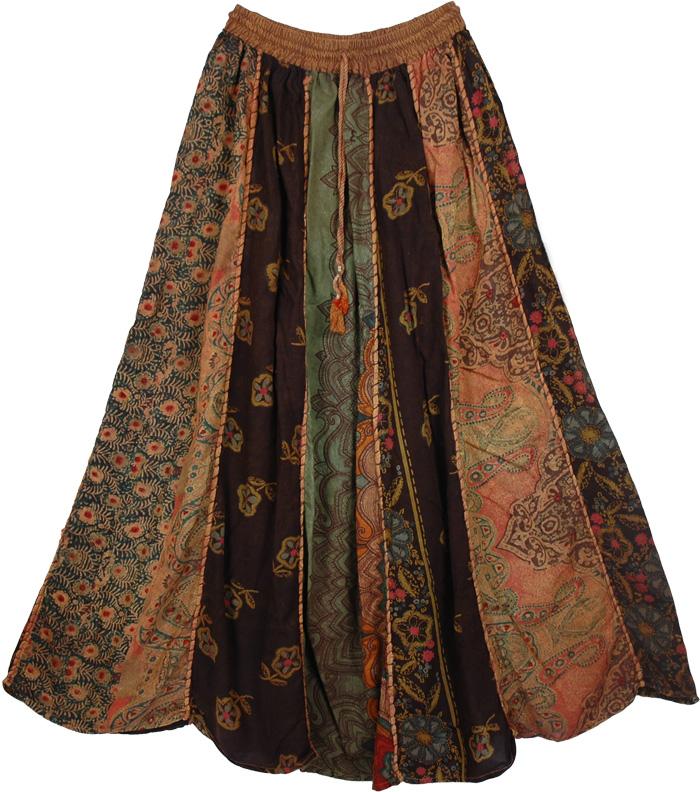 Hippie Patchwork Designer Fashion