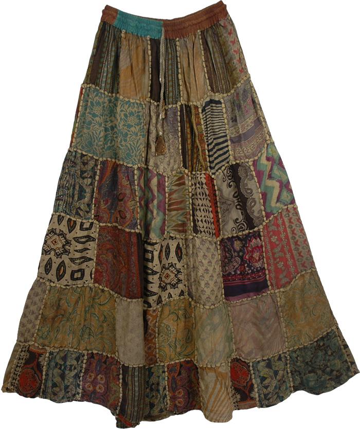 Gypsy Boho Skirt 75