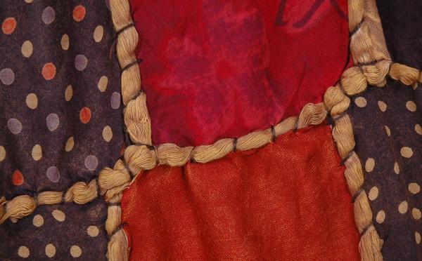Polka Patches Boho Long Skirt