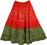 The Monza Indian Skirt