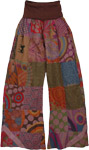Yajna Lounge Patchwork Pants