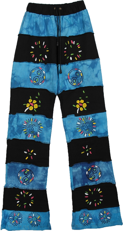 Boho Junior Size Trouser, Tall and Slim Junior Boho Pants