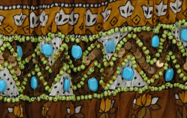 Lisbon Brown Cotton Tall Skirt