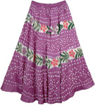 Royal Heath Summer Womens Skirt