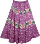 Royal Heath Summer Womens Skirt