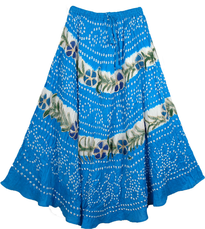 Summer Mauve Long Skirt, Lochmara Oceanic Summer Skirt