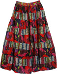 Razmataz Patchwork Long Skirt