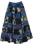 Cedar Hippy Cotton Long Skirt