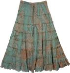 Marble Tie Dye Santa Fe Skirt