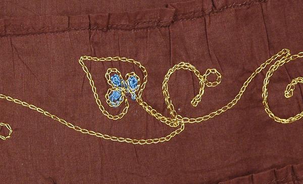Choco Shiraz Cotton Skirt