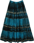Courtesan Blue Gorgeous Skirt