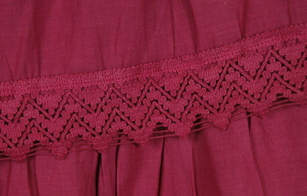 Stiletto Pink Frills Long Skirt
