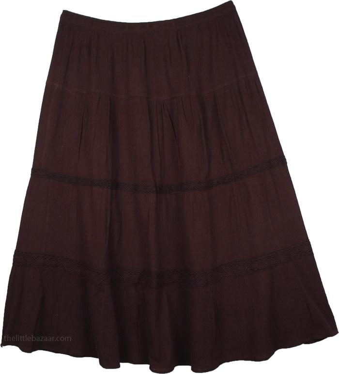 A Modest Black XL Skirt, Classy Black XL Womens Skirt
