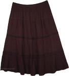 A Modest Black XL Skirt [3537]