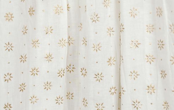 White Royal Crinkle Long Skirt