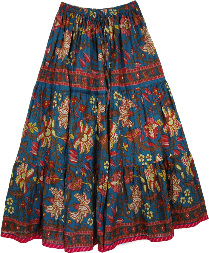 Full Circle Cotton Long Skirt for Spring - Clothing - Sale on bags ...