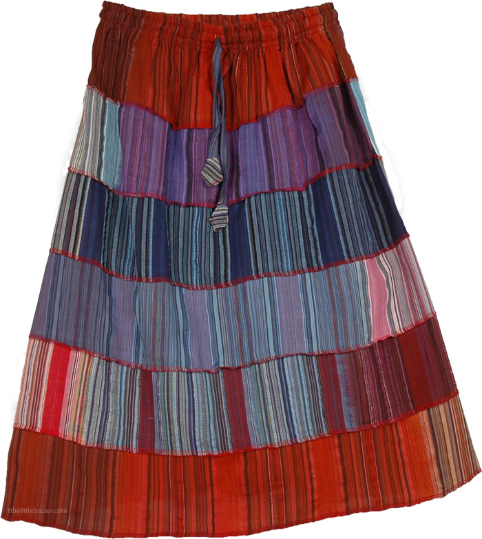 Light and Easy Wear Skirt, Breezy Wheezy Summer Skirt