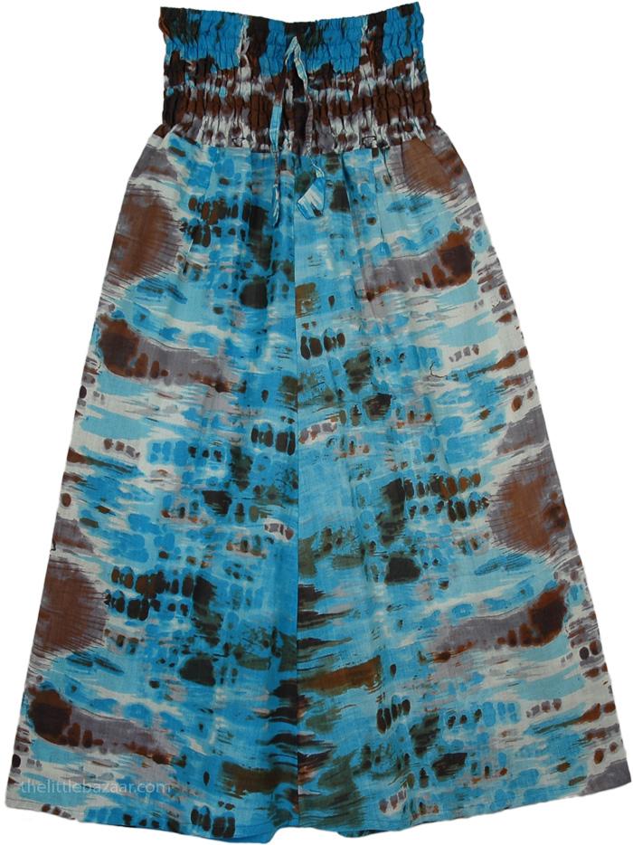 Everyday Summer Skirt, Bonanza Fiesta Smocked Skirt