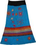 Winter Applique Skirt [3592]