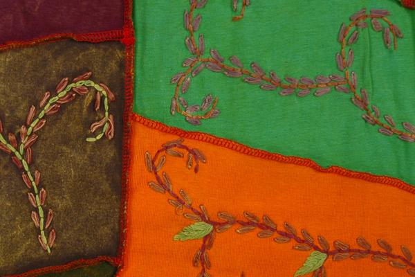 Bohemian Gypsy Embroidery Long Skirt