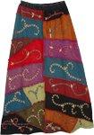 Himalaya Inspired Embroidered Long Skirt [3597]