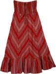 Straight Small Cotton Skirt [3599]