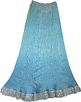 Womens Long Skirt Formal Designer Look
