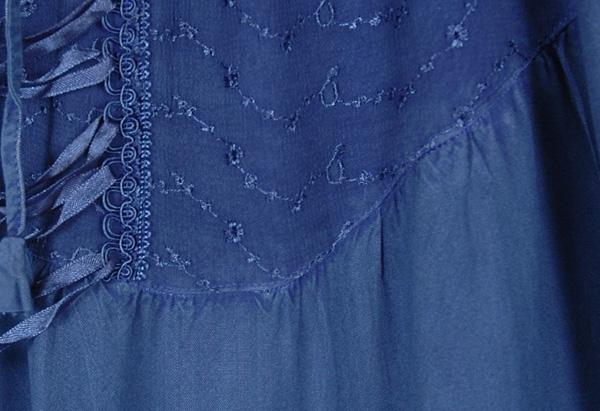 San Marino Asymmetrical Hem Boho Skirt