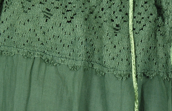 Glade Green Palazzo Gaucho Split Skirt