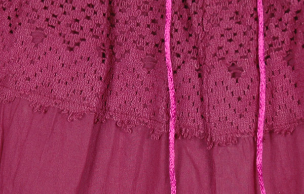 Chili Pepper Pink Palazzo Split Skirt