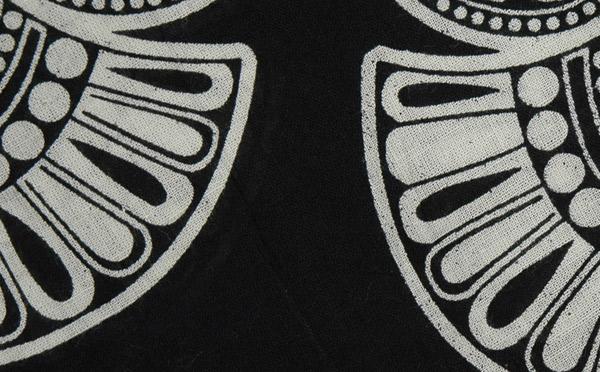 Black and White Pattern Skirt