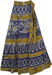 Hacienda Wrap Long Skirt