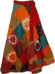 Trinidad Fall Wrap Around Skirt