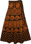 Tia Maria Thai Wrap Skirt