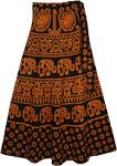 Tia Maria Thai Wrap Skirt