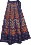Sunlight Blue Wrap Around Skirt