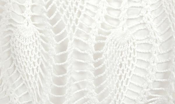 Snow White Crochet Skirt
